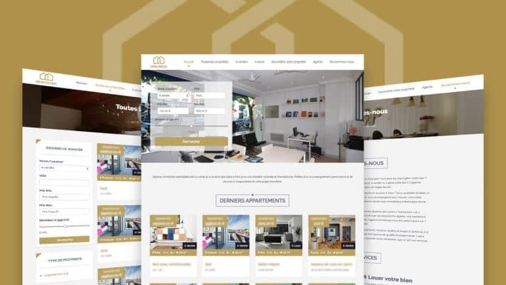 creation site internet agence immobilier